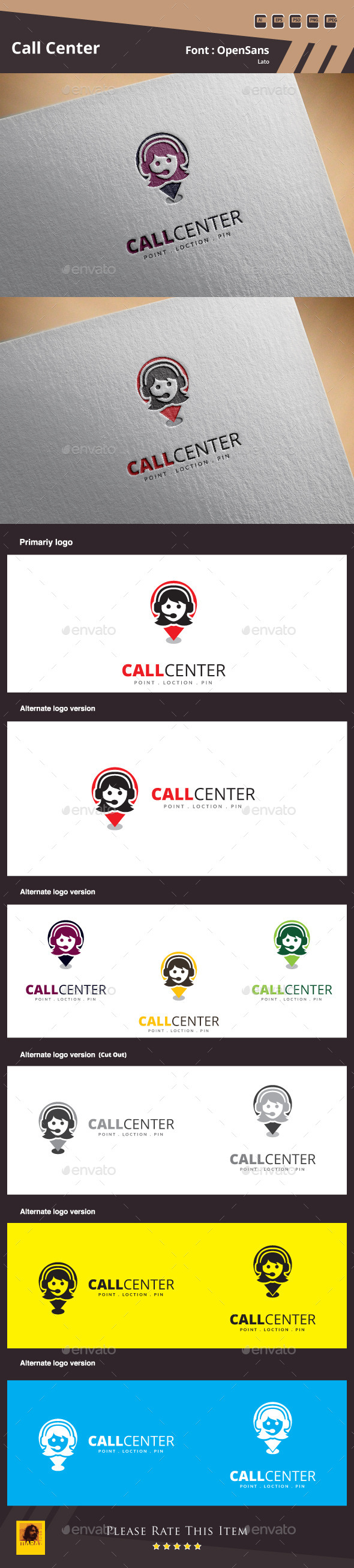 GraphicRiver Call Center Logo Template 11439461