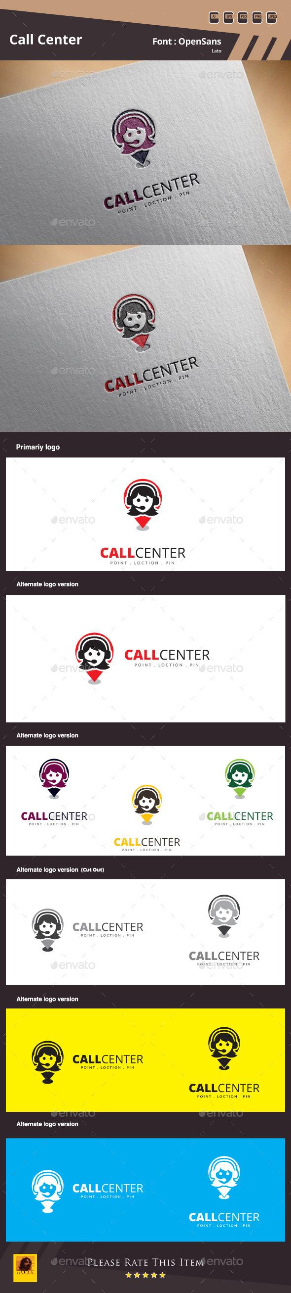 GraphicRiver Call Center Logo Template 11439461