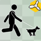 Stick Figure Move With Dog - VideoHive Item for Sale
