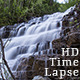 Silky Waterfall Silver Staircase Cascade - VideoHive Item for Sale