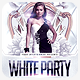 White Party VIP Flyer Template - GraphicRiver Item for Sale