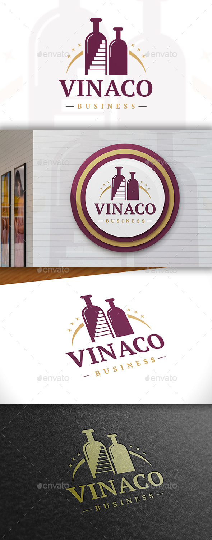 GraphicRiver Wine Logo 11440202