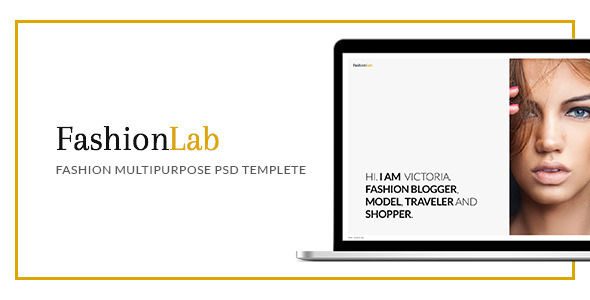 ThemeForest Fashion Lab PSD 11440203