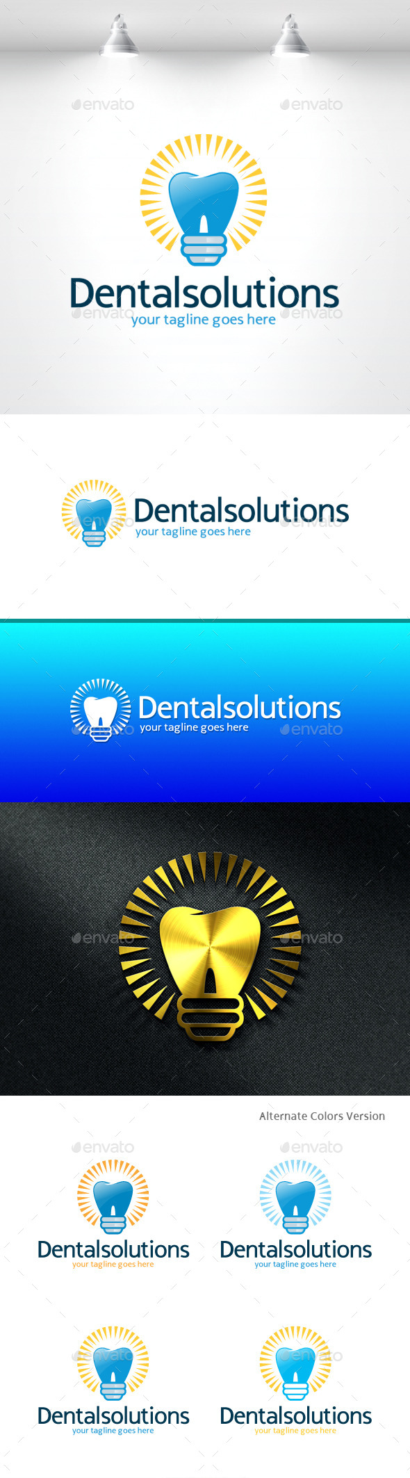 GraphicRiver Dental Solutions Logo 11406516