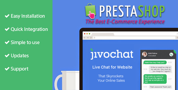 CodeCanyon Jivo Chat for Prestashop 11440439
