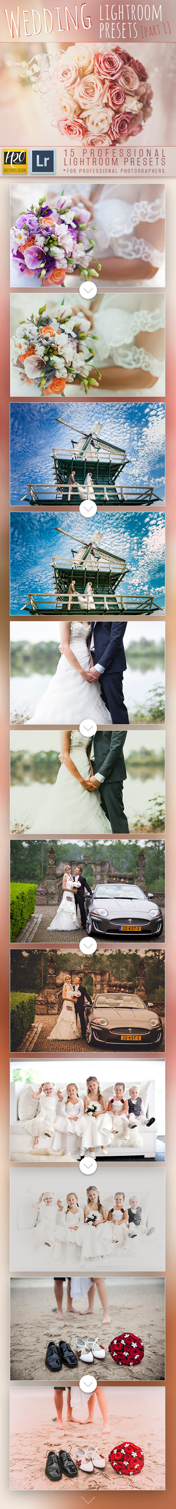 GraphicRiver Wedding Lightroom Presets [Part 1] 11440443