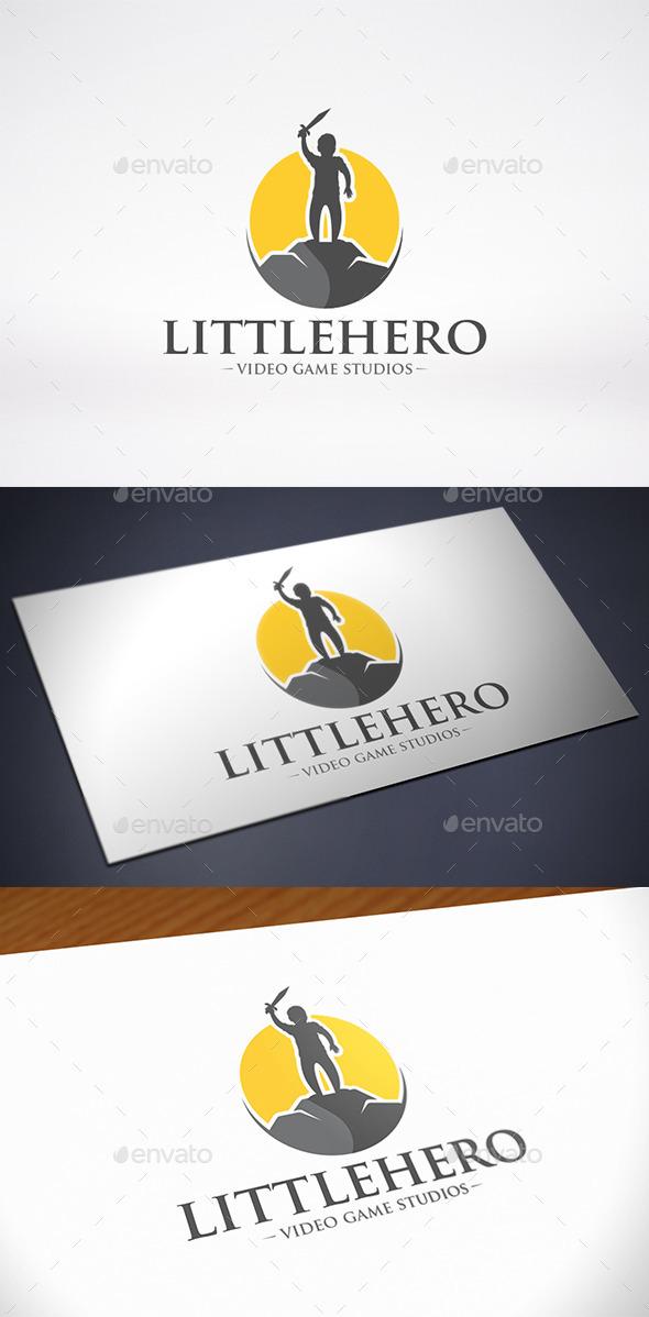 GraphicRiver Little Hero Logo Template 11440491