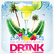 Summer Beach Cocktail Drink Flyer Template - GraphicRiver Item for Sale