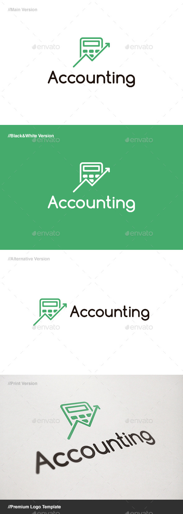 GraphicRiver Accounting Logo 11441112