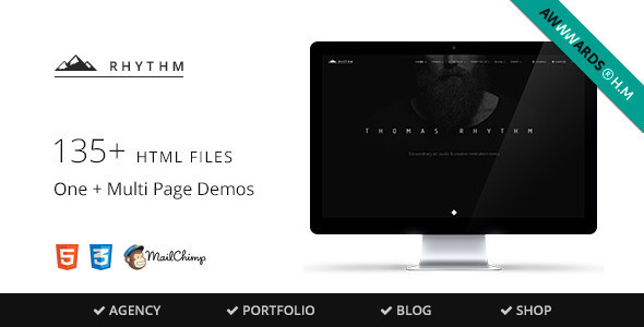 ThemeForest Rhythm Responsive Multi-Purpose Theme 11330434