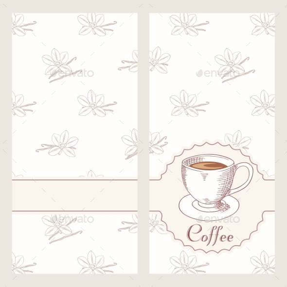 GraphicRiver Coffee House Menu Template Design In Vector Hand 11441207