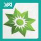 Green Leaf Sun - Eco Energy Logo  - GraphicRiver Item for Sale