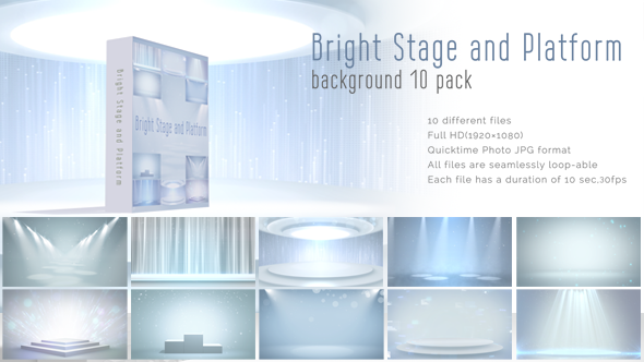 Bright Stage and Platform 10 Pack
