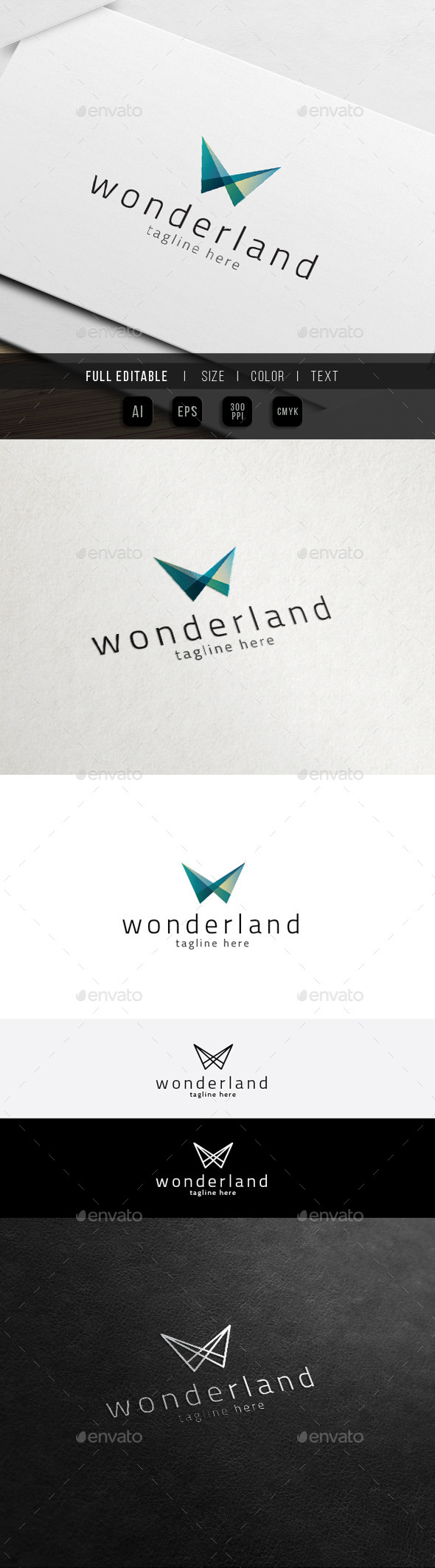 GraphicRiver Wonderland Studio Business Marketing Logo 11441638