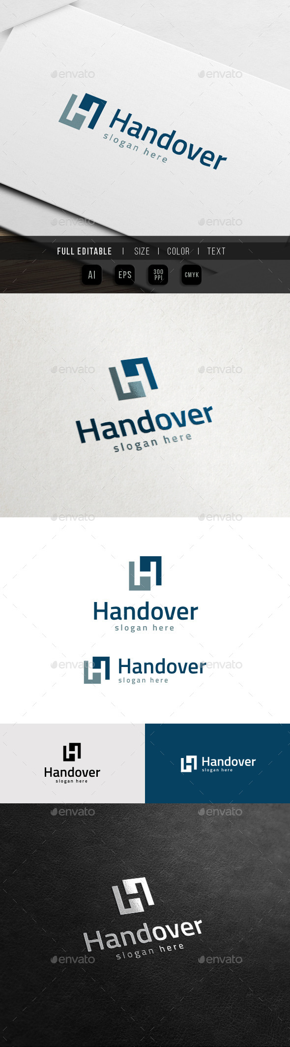 GraphicRiver Hand Over Marketing Square Finance Logo 11441686