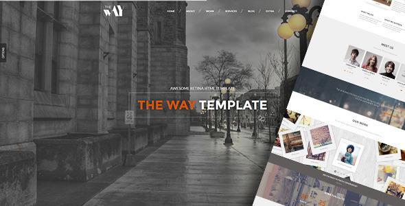 The Way - Creative OnePage & MultiPurpose WP Theme - Portfolio Creative
