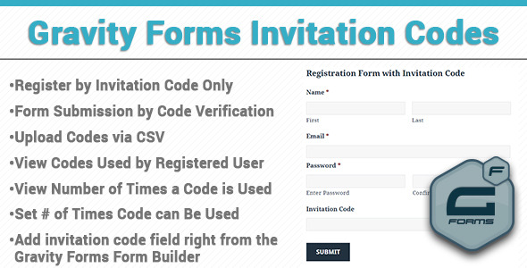 CodeCanyon Gravity Forms Invitation Codes 11441758