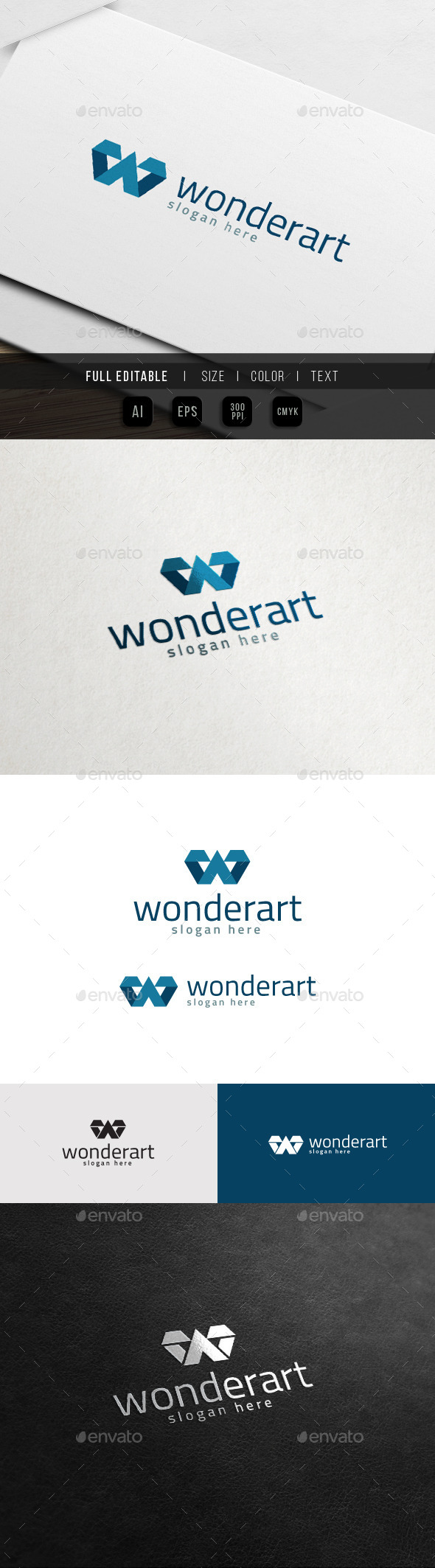 GraphicRiver Wonder Art Business Marketing W Logo 11441768