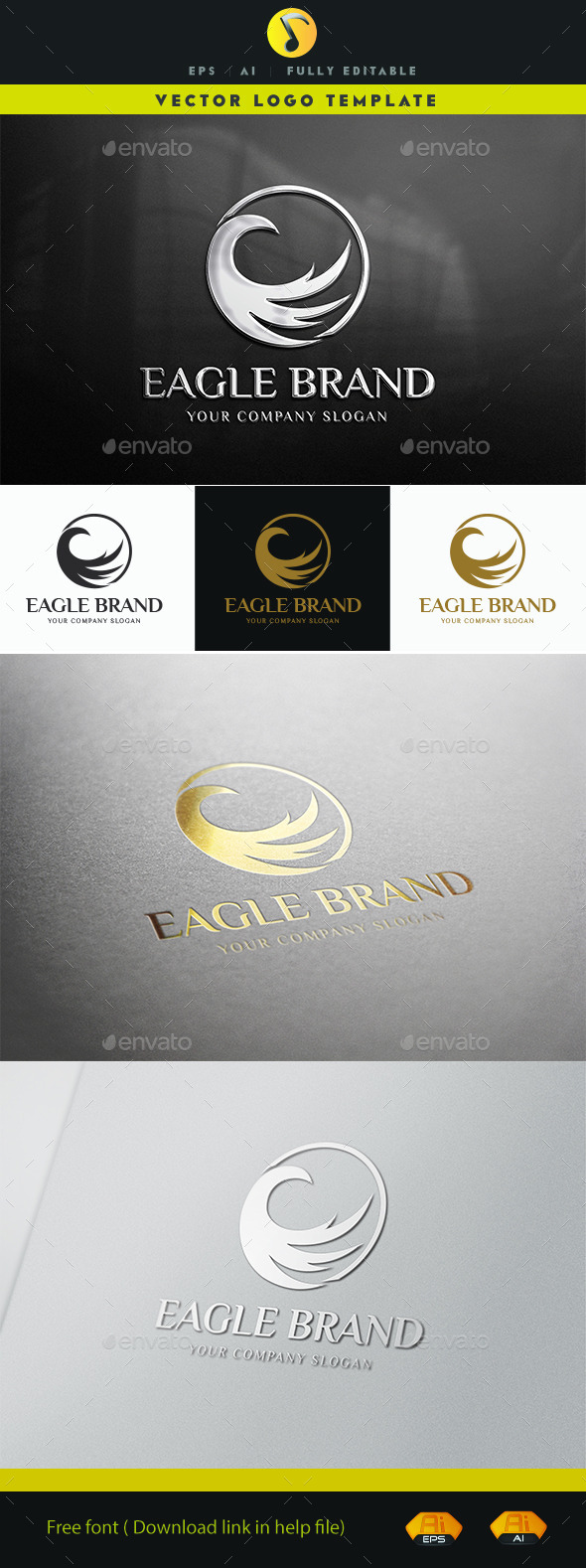 GraphicRiver Eagle Brand V.3 11441771