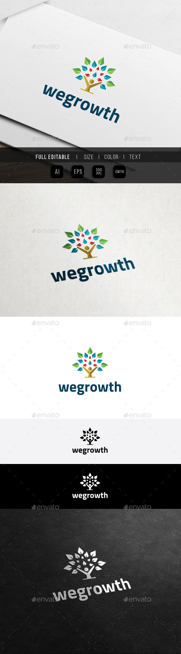 GraphicRiver We Growth Eco Learning Salon n Spa 11441795