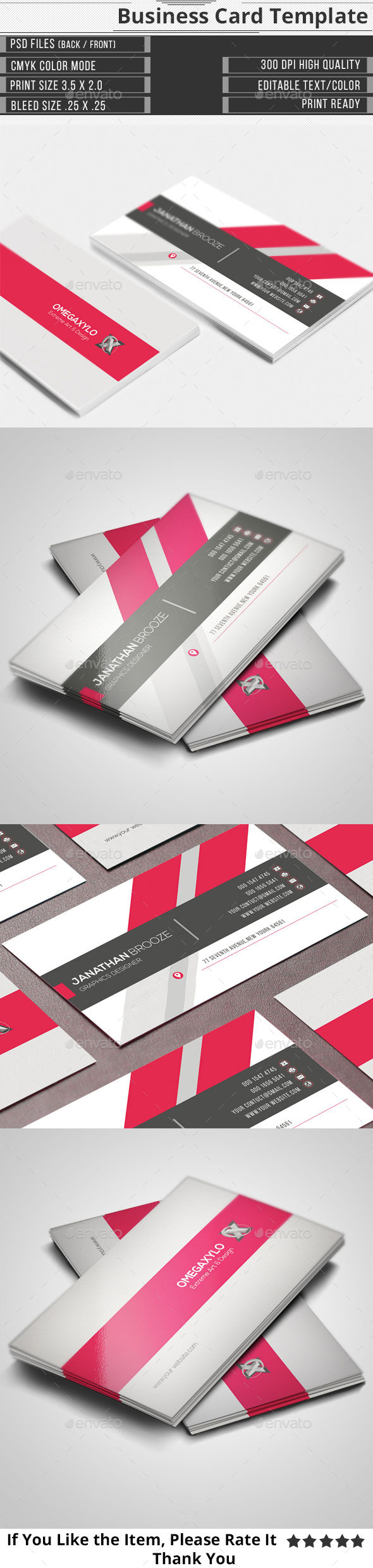 GraphicRiver Corporate Business Card 11441858