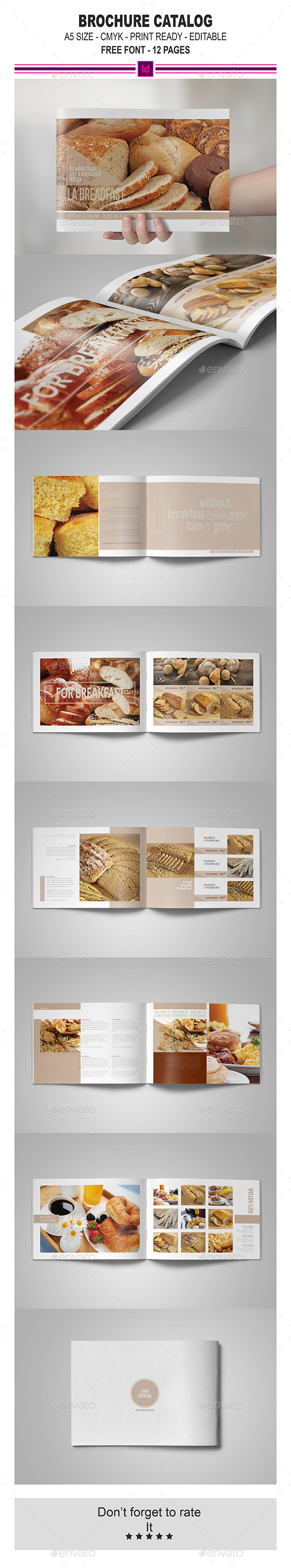 GraphicRiver Multipurpose InDesign Brochure Catalog 11441972