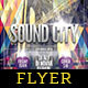 Sound City Flyer Template - GraphicRiver Item for Sale