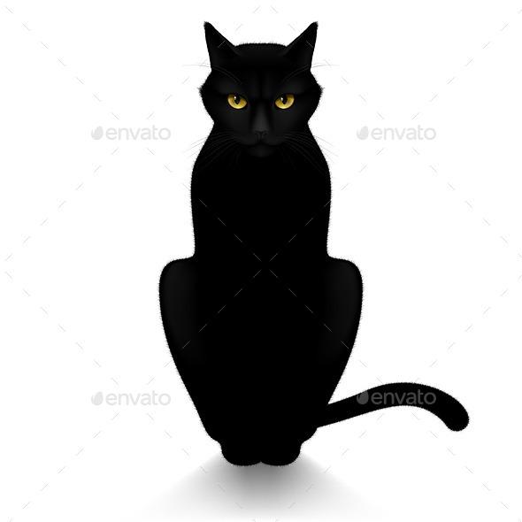 GraphicRiver Black Cat 11441982