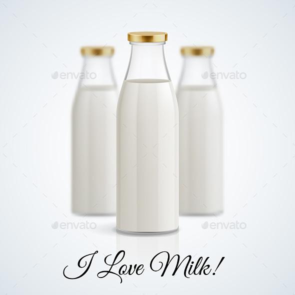 GraphicRiver Milk Bottle 11442023