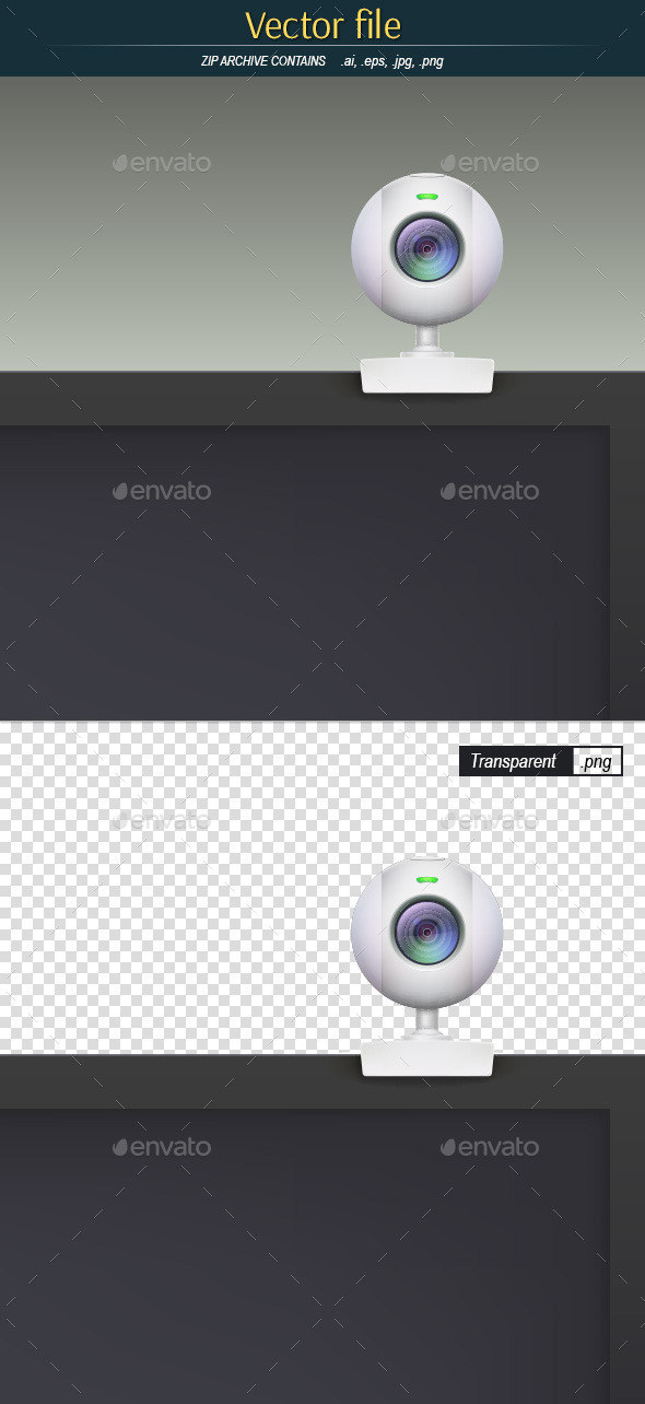 GraphicRiver Webcam on Monitor 11442204