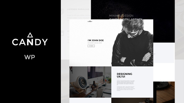 ThemeForest Candy One & Multi Page WP 11408016
