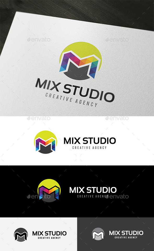 GraphicRiver M Logo 11442246