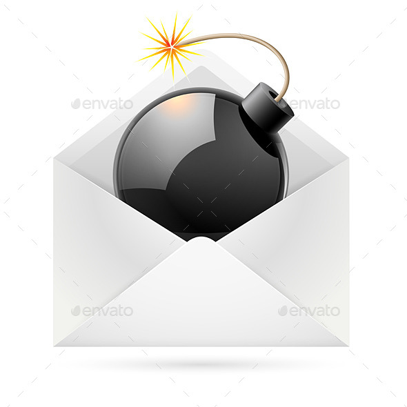 GraphicRiver Bomb Mail 11442352