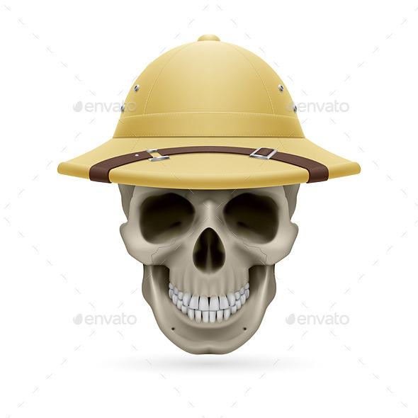 GraphicRiver Hat Skull 11442359