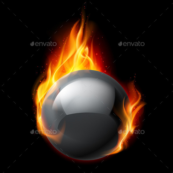 GraphicRiver Fire Sphere 11442366