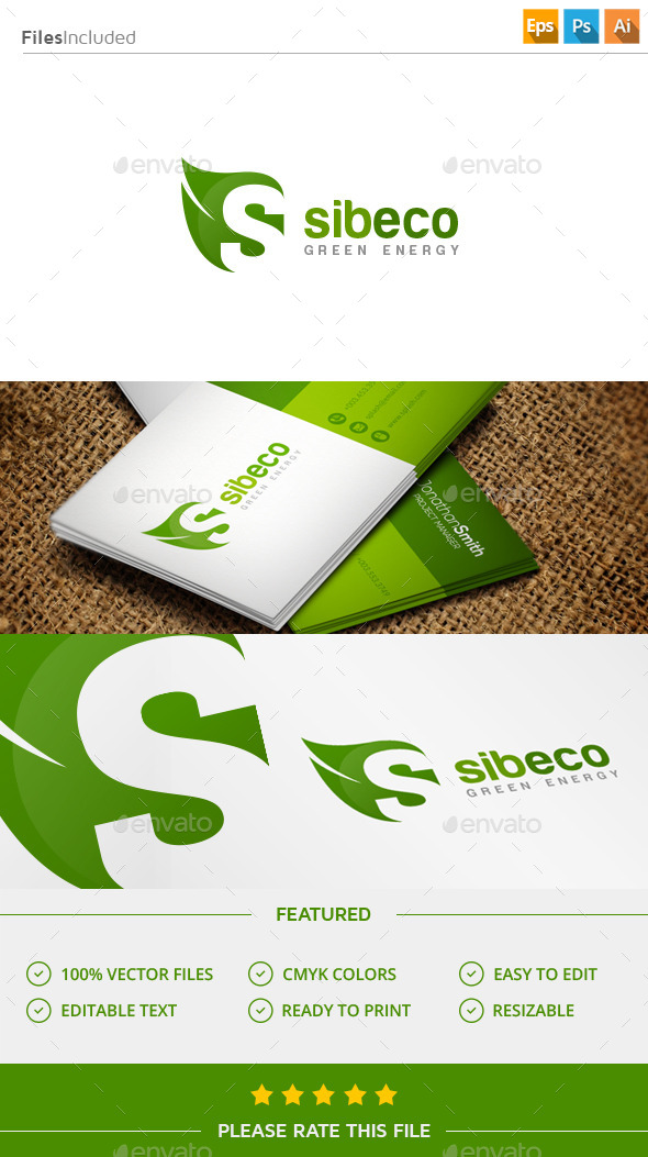 GraphicRiver Letter S Logo 11433981