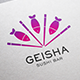 Geisha Logo Template - GraphicRiver Item for Sale