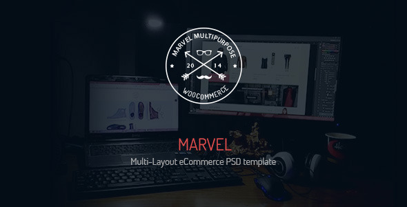 ThemeForest Marvel Multi-Layout eCommerce PSD Template 11442674