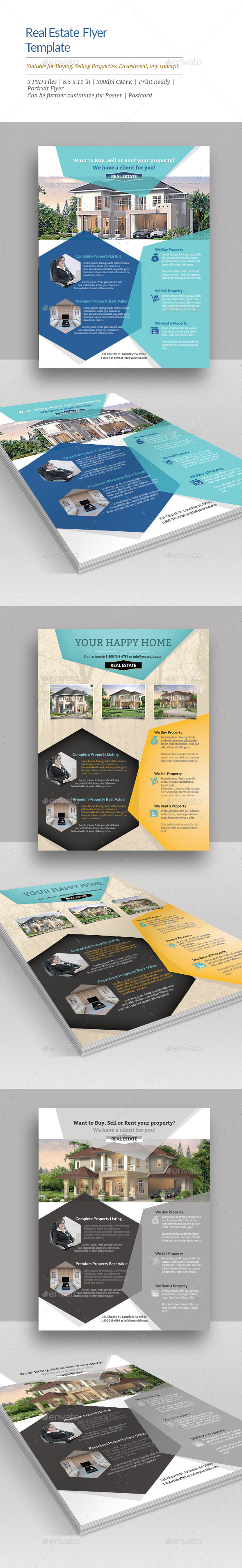 GraphicRiver Real Estate Flyer Templates 11442786