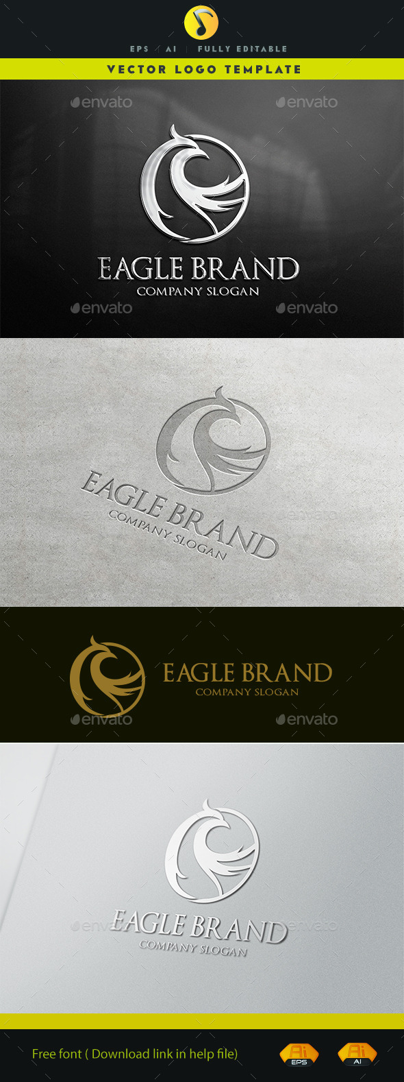 GraphicRiver Eagle Brand 11442800