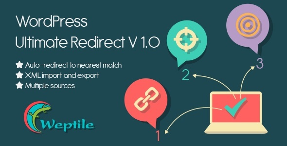CodeCanyon WordPress Ultimate Redirect Plugin 11423006