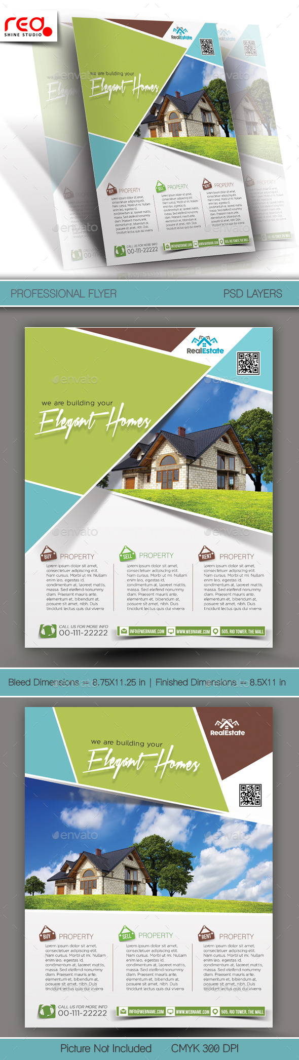 Real Estate Multipurpose Flyer Template