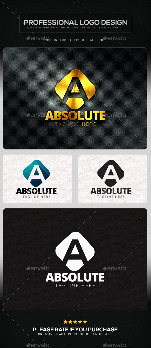 GraphicRiver Absolute Logo Template 11443074