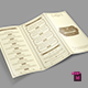 TriFold Restaurant Menu Template Vol. 8 - GraphicRiver Item for Sale