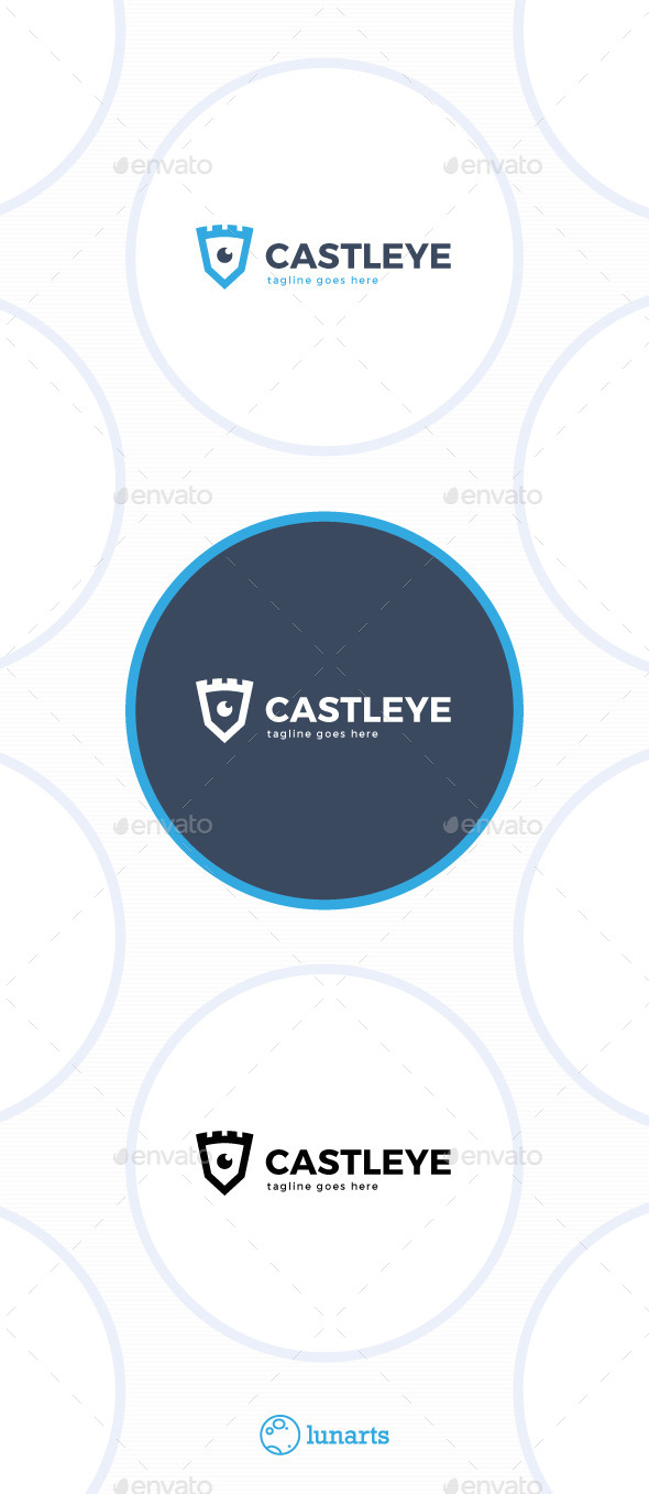 GraphicRiver Castle Eye Logo 11443263