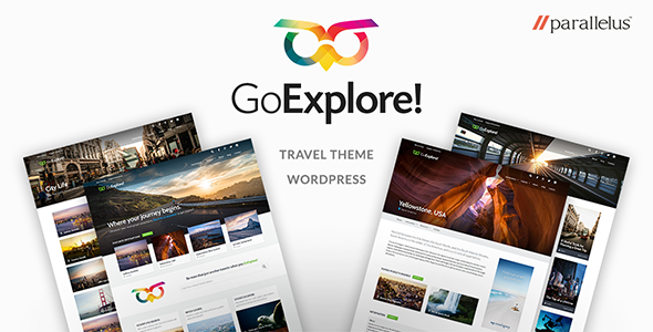 Travel WordPress Theme GoExplore