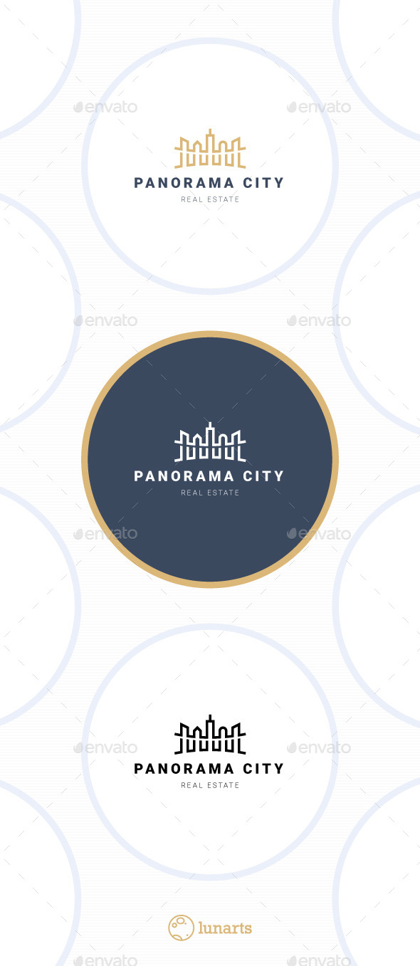 GraphicRiver Panorama City Logo 11443552