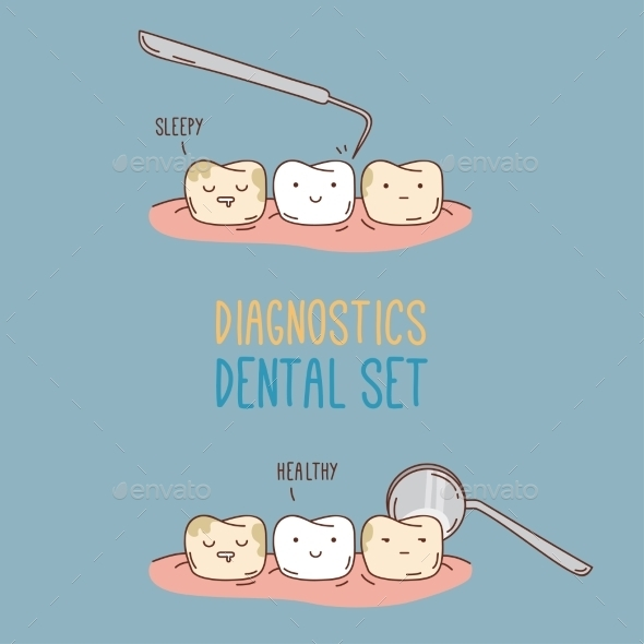 GraphicRiver Comics About Dental Diagnostics and Treatment 11443562