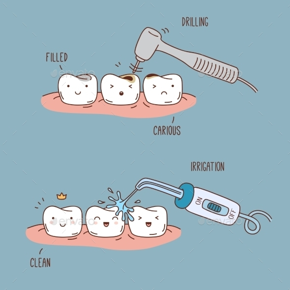 GraphicRiver Teeth Treatment and Care 11443565