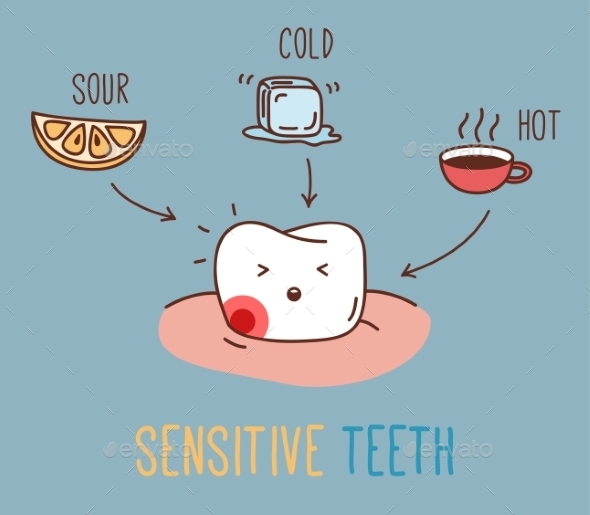 GraphicRiver Comics About Sensitive Teeth 11443580